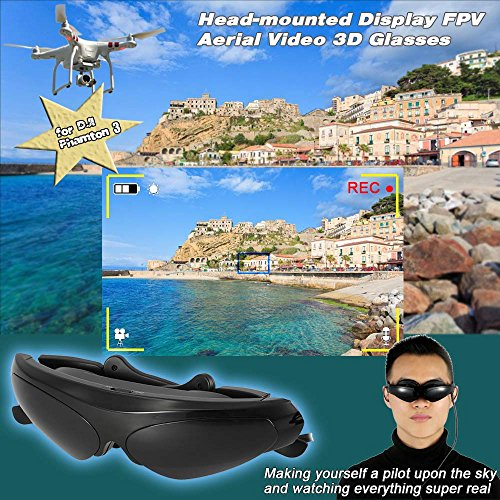 GoolRC Head Mounted Display FPV 3D Brille - 6