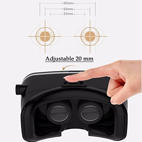 ELEGIANT Universal 3D VR einstellbare Virtual Reality Brille - 6