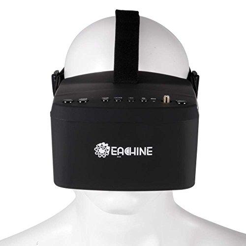 XCSOURCE® Eachine EV800 5 Zoll 800x480 FPV Brille 5.8G 40CH Empfänger Raceband Auto-Suche Eingebaute Batterie AH221 - 2