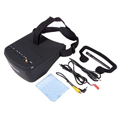XCSOURCE® Eachine EV800 5 Zoll 800x480 FPV Brille 5.8G 40CH Empfänger Raceband Auto-Suche Eingebaute Batterie AH221 - 3