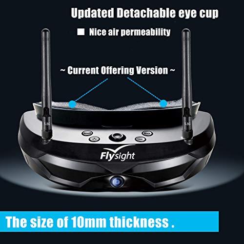 Flysight FPV Brille 5.8G Dual Antenna für RC Drohne - 2