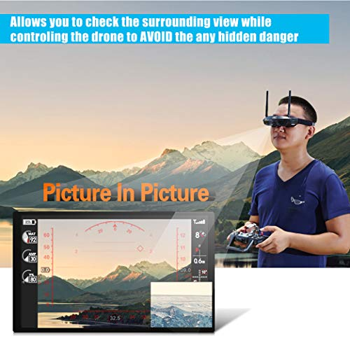 Flysight FPV Brille 5.8G Dual Antenna für RC Drohne - 7
