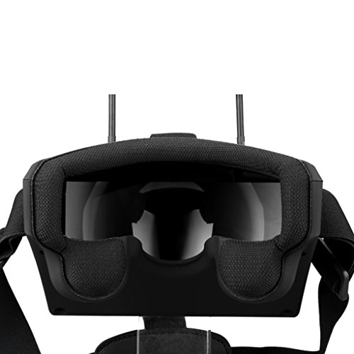 Virhuck LS-800D FPV Goggles DVR 5.8GHz, 3D VR Headset mit 5