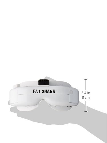 FATSHARK FAT SHARK DOMINATOR HD3 HD V3 FSV1076 Modular 3D FPV Headset GOGGLES - 2