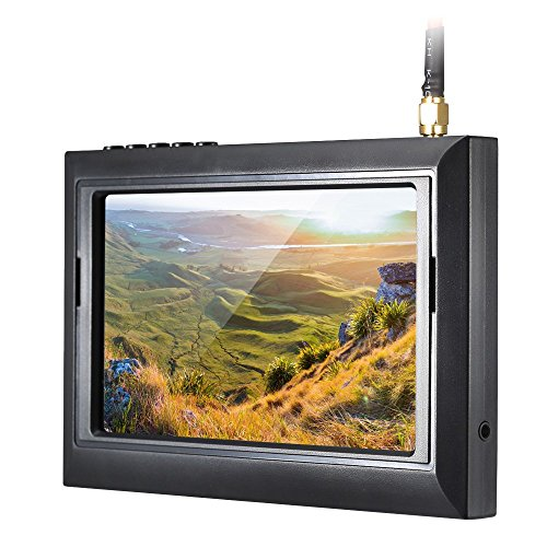 Andoer 4.3″ HD TFT-LCD-Bildschirm FPV Kamera Monitor - 2