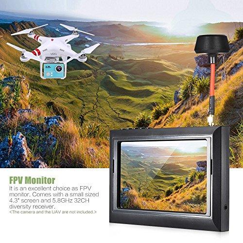 Andoer 4.3″ HD TFT-LCD-Bildschirm FPV Kamera Monitor - 3