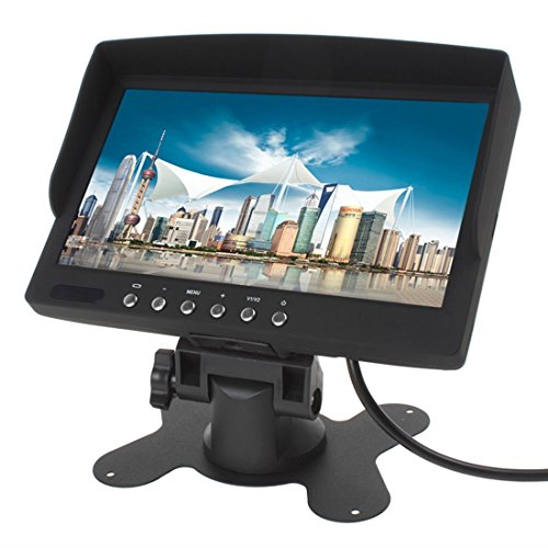 7 Zoll 800*480 400Lux HD LED FPV Monitor