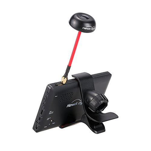 Hawkeye Little Pilot 5 Zoll 40CH FPV Monitor für Racing Drone DIY Quadcopter Luftbildaufnahme - 6