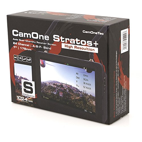 CamOneTec FCHD79 FPV-Bildschirm Stratos 17,8 cm (7 Zoll)/178 mm schwarz - 2