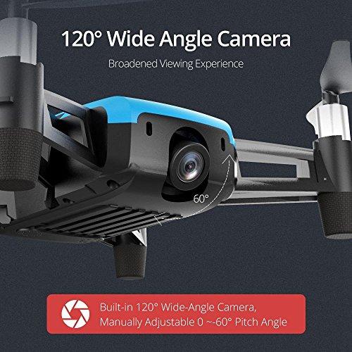 REDPAWZ R011 5.8G 40CH Micro FPV Racing Drone mit 1000TVL FOV 120 ° Weitwinkel Kamera FPV Goggles - RTF - 5