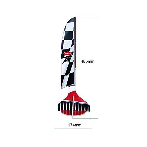 Ducati Corse dcrctrack Circuit FPV bestehend aus Gate, flags und Starting Pad - 4