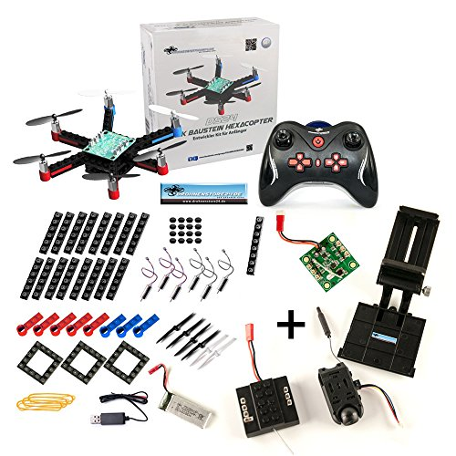 DS24 Baustein Hexacopter + FPV SET + DS24 Tasche L