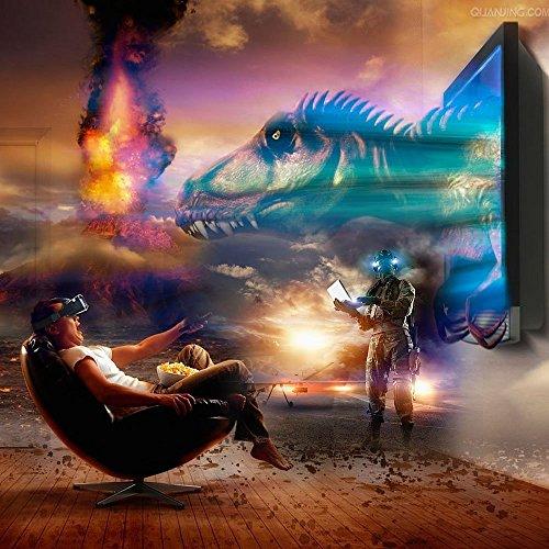 InnooTech 3D VR Virtual Reality Brille Game Videos Movies Film Virtuelle Realität Glasses Einstellbar für 3,5-6 Zoll Android IOS Iphone Samsung Smartphone - 6