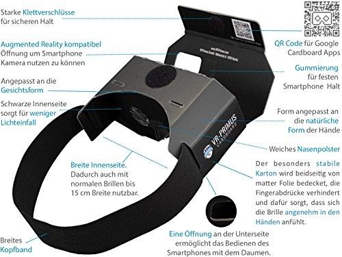 VR-PRIMUS® Cardboard | VR Brille | Virtual Reality - 4