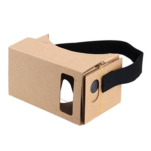 Google Cardboard, Virtual Reality 3D Karton Brille