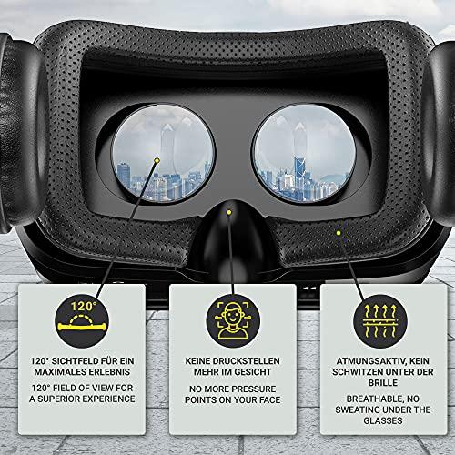 VR Brille VR-SHARK® X4 – Google Cardboard - 2
