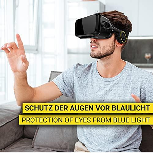 VR Brille VR-SHARK® X4 – Google Cardboard - 4