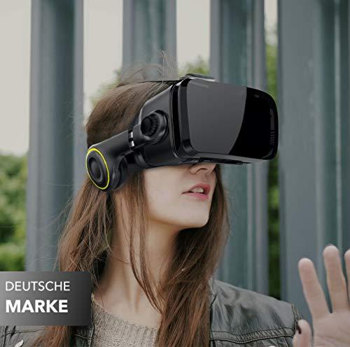 VR Brille VR-SHARK® X4 – Google Cardboard - 5