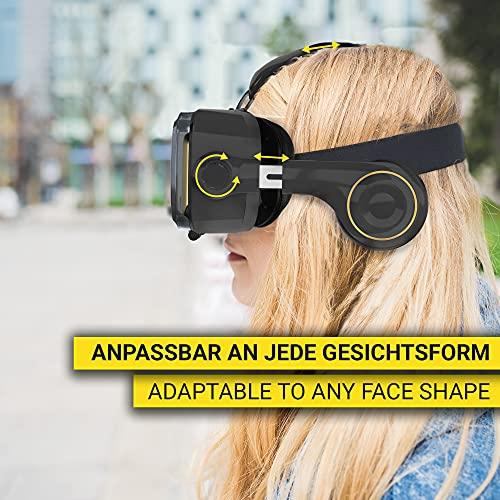 VR Brille VR-SHARK® X4 – Google Cardboard - 6