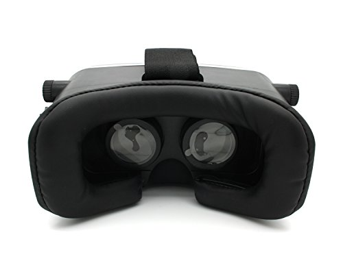 VR90 Premium Virtual Reality Glasses Video 3D VR Brille Einstellbar / 360° Panorama Filme Spiele für 3.5 - 6.0 Zoll Smartphones - 5