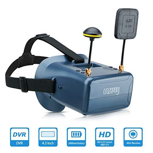 FPV Brille VR008 Pro 2 FPV Headset Brille mit DVR 4,3 Zoll - 8