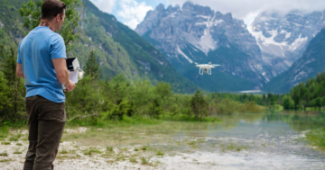 Drohnen Rennen